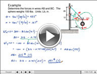 Play Statics of Particles Video